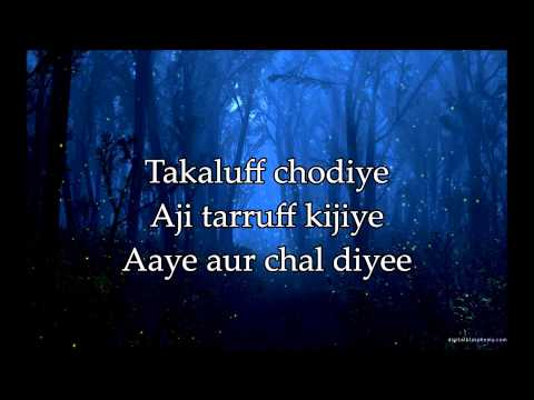 Dont Say Alvida - Lyrics & Translation