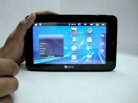 Zync Z909 Plus Android Tablet PC Review (English)