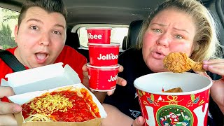 Tammy Tries Jollibee For The First Time • MUKBANG