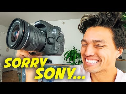 WHY I'M SWITCHING BACK TO CANON!!  *Sony Vs Canon*