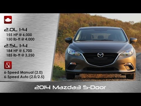 2014 Mazda Mazda3 5 Door Hatchback Review and Road Test