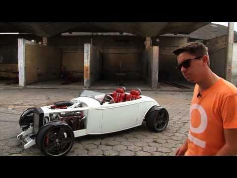 Autoesporte acelera o hot rod Sigma V8