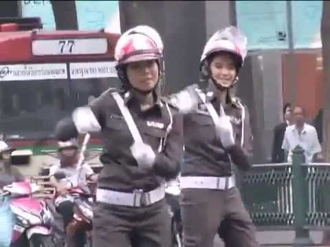 Sex Shooter Music Video Unofficial W  Thai Policewomen Dancing video