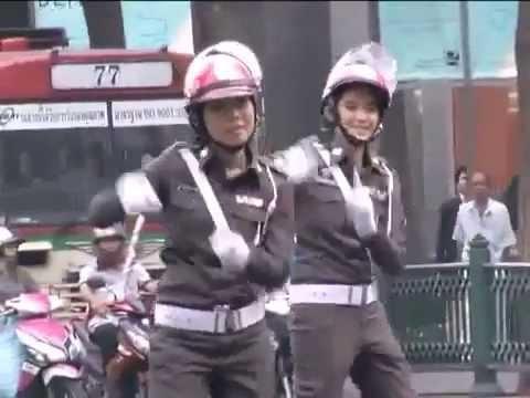 Sex Shooter Music Video Unofficial W  Thai Policewomen Dancing video