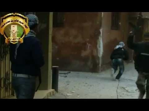 أشتباكات في مخيم اليرموك بين الجيش الحر وقوات الأسد