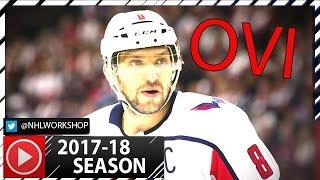Alex Ovechkin 2017-2018 NHL Season Highlights. 9 Goals Already! (HD)