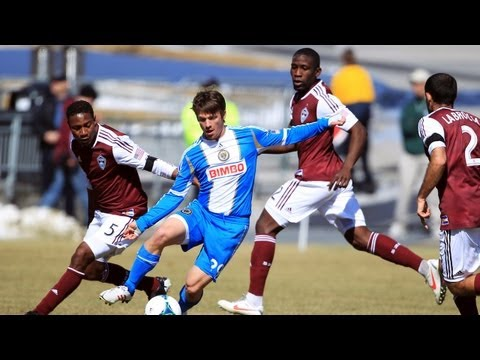 HIGHLIGHTS: Colorado Rapids vs. Philadelphia Union | March 10, 2013