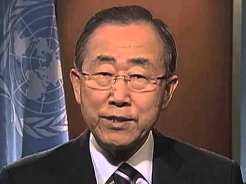 UN Day 2012- Secretary-General message