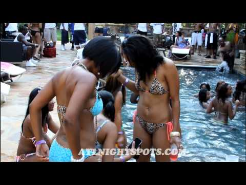 Allen Iverson Birthday Pool Party (06-26) Video