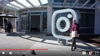 Tour of Facebook and Instagram Headquarters