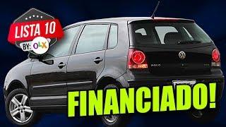 10 CARROS PARA VOCÊ COMPRAR FINANCIADO (By OLX)