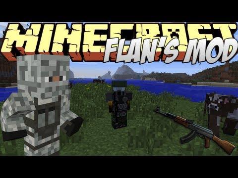 Minecraft Mods Showcase - Flan's Mod! (1.8) - 1.7.10