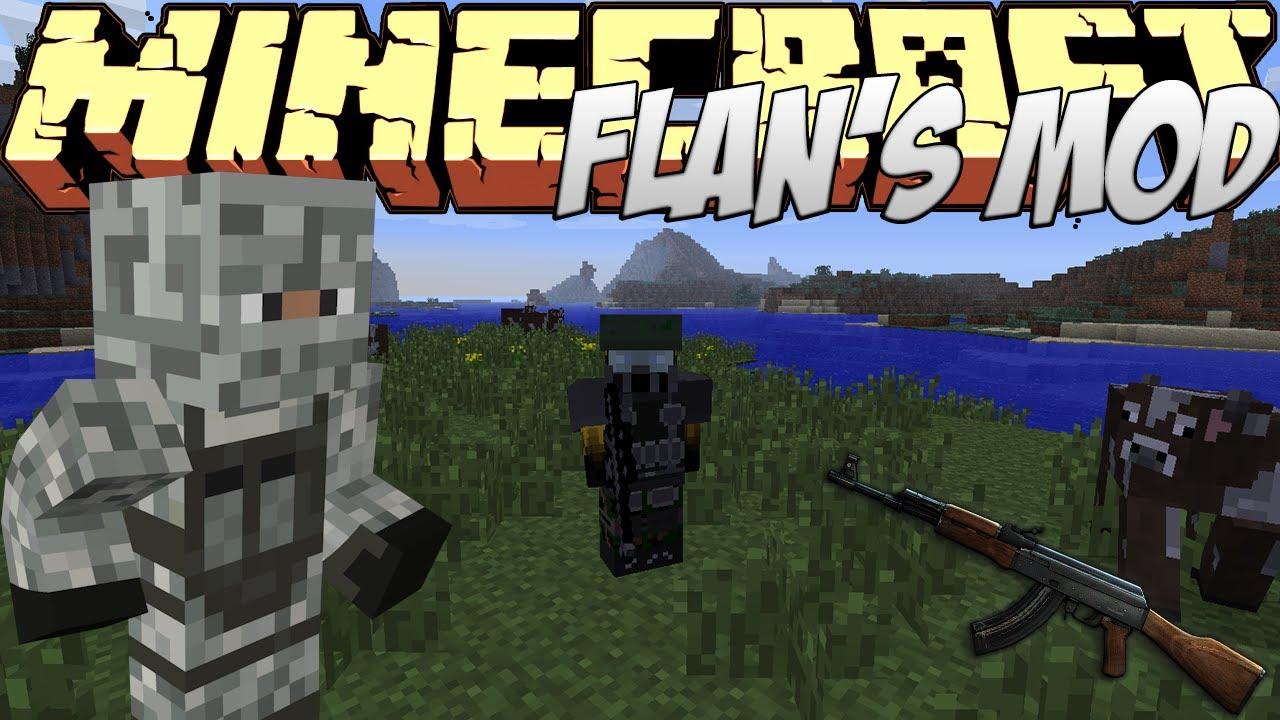 Minecraft Flans Gun Mod - Minecraft maps fur flans mod