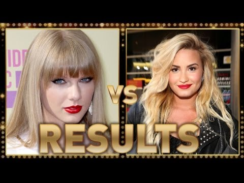 Taylor Swift vs. Demi Lovato: 2012 MTV VMA Fashion Faceoff RESULTS