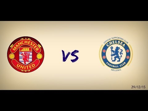 Manchester United Greek Supporters Club Vs Chelsea FC Hellenic Supporters