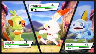 Grookey, Scorbunny or Sobble, Who is the Best Starter Pokémon in Pokémon Sword and Shield?