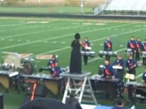 The 2011 Romeoville High School Drumline
