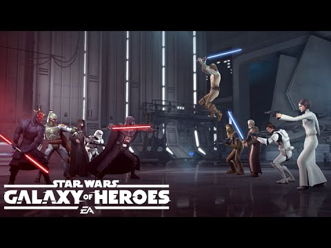 Star Wars: Galaxy Of Heroes Available Now On The App Store & Google Play