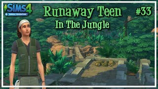 Best Friends Forever #33 - Runaway Teen in the Jungle | Let's Play The Sims 4