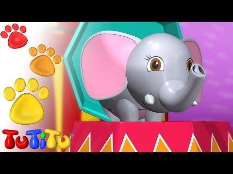 TuTiTu Animals | Animal Toys for Children | Elephant
