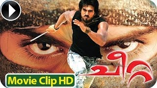 Cheetta - Malayalam Full Movie 2012 - Romantic Scene 5 Ram Charan Teja With Neha Sharma [HD]