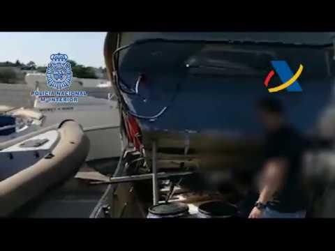 Narcotráfico en Cádiz: Policía Nacional y Agencia Tributaria detienen a 10 personas en Sancti Petri