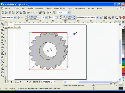 CorelDraw X3 - Realizar una rueda dentada