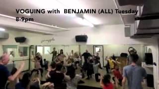 Voguing with Benjamin Milan - Pineapple Dance Studios