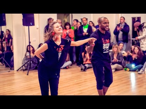 William dos Santos & Lucia Kubasova - Zouk Demo - Amsterdam Brazilian Dance Festival 2017