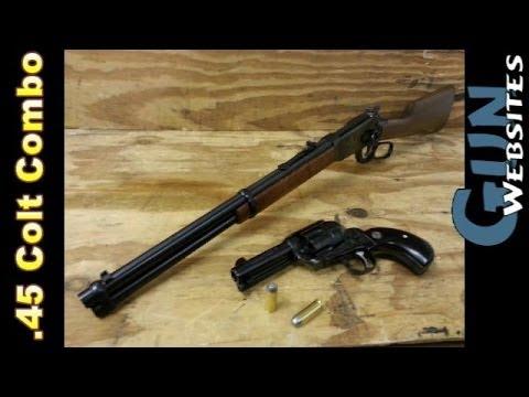 .45 colt Combo. Rifle & Revolver