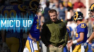 """Sean McVay Mic'd Up vs. Seahawks """"Get the Halle Berry!""""   NFL Films"""