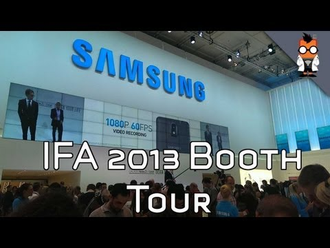 Samsung Booth Tour at IFA 2013