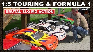 RC Formula 1 & Touring Car 1:5 Trophy / Super Slow Motion