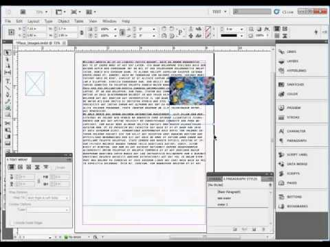 how to make interactive images in indesign
