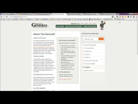 General Auto Insurance Reviews, Phone Number and Locations