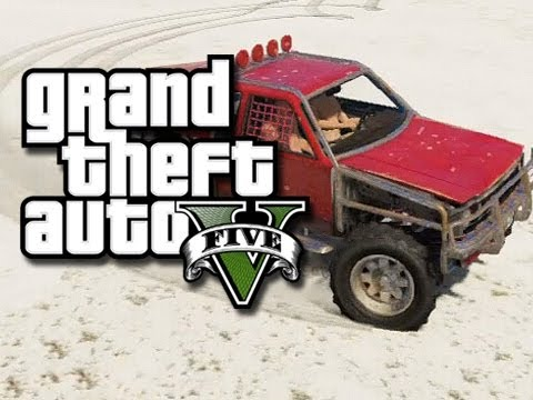 GTA 5 Christmas! -  Funny Moments with the Crew!  (GTA 5 North Yankton Glitch)