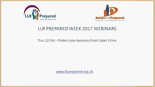 LLR Prepared Week 2017 - Protecting Your Business from Cyber Crime - Q&A