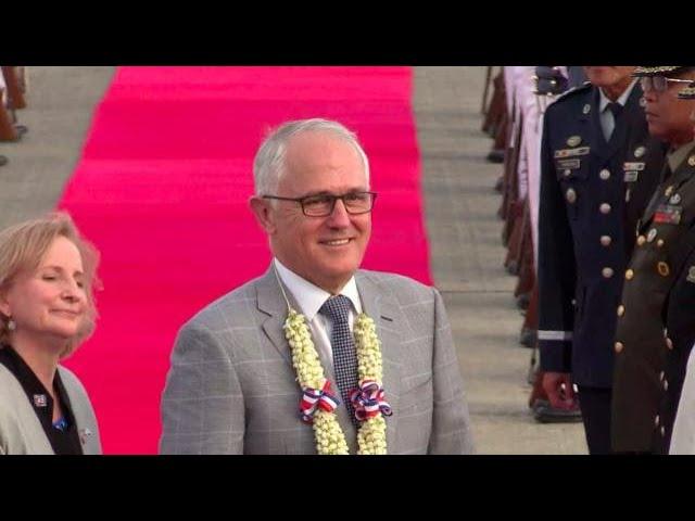 Australian PM Malcom Turnbull arrives in PH for 31st Asean Summit
