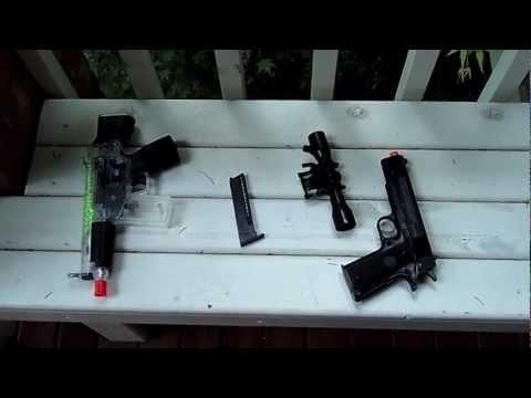 Dual Power Mini Carbine and Stinger P311 ~ Airsoft Gun Review