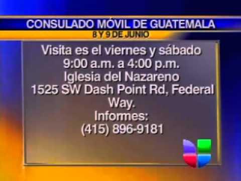 Consulado Móvil de Guatemala