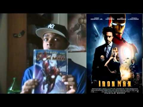The Avengers Lead Up:Iron Man Review