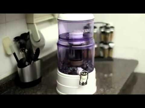 Sistema De Filtro De Agua Pi Water De Nikken Youtube