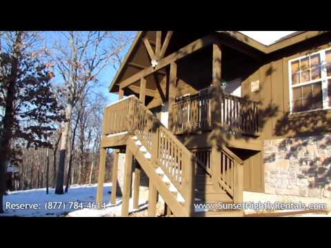 Swept Away - 1 Bedroom 1½ Bath Cabin Rental Branson West MO