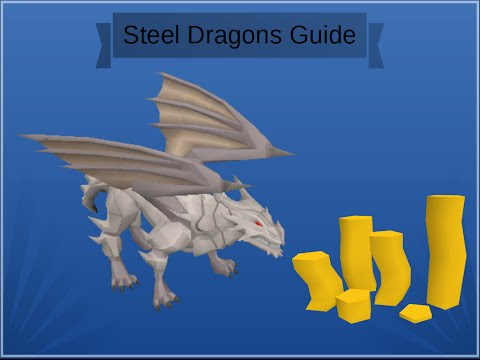 Runescape 2007 Metal Dragons Guide Range/Mage