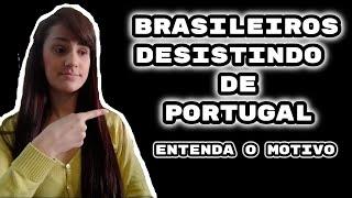 Brasileiros desistindo de Portugal | Realidade | Sem MIMI | Vlog´s Vanessa