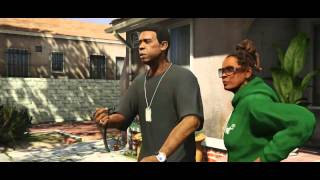 GTA V Michael, Franklin and Trevor trailers