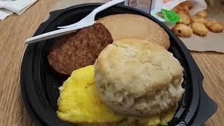 Burger King Jumbo Platter for breakfast.
