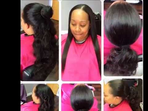 Versatile Natural Looking Sew in you can put in a ponytail *Bob Cut*