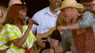 Nile Rodgers & CHIC performing Good Times live at The Isle of Wight Festival 2018