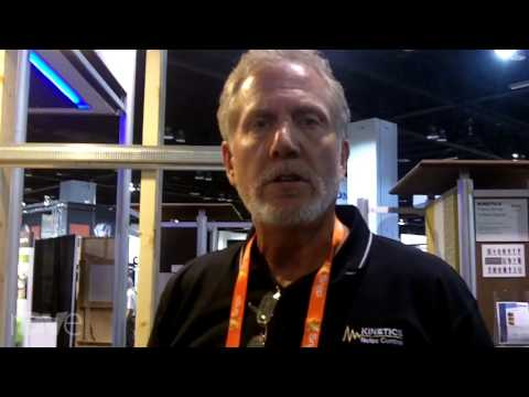 CEDIA 2013: Kinetics Demos Advanced Noise Control